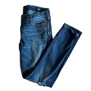 Silver Jeans Tuesday low skinny jean
